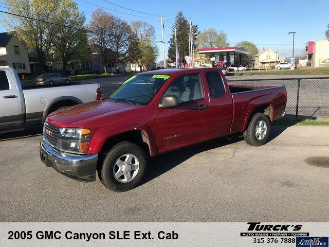 2005 GMC Canyon SLE Ext. Cab