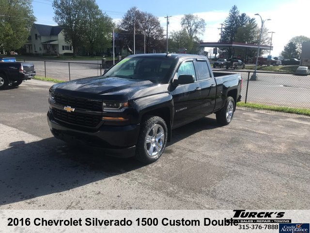 2016 Chevrolet Silverado 1500 Custom Double Cab
